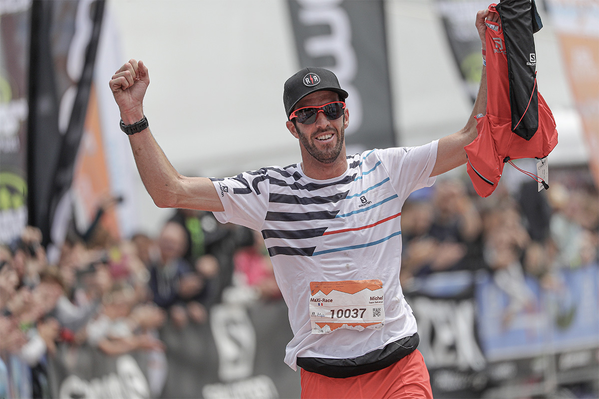 Michel Lanne vainqueur de la Maxi-Race 2019