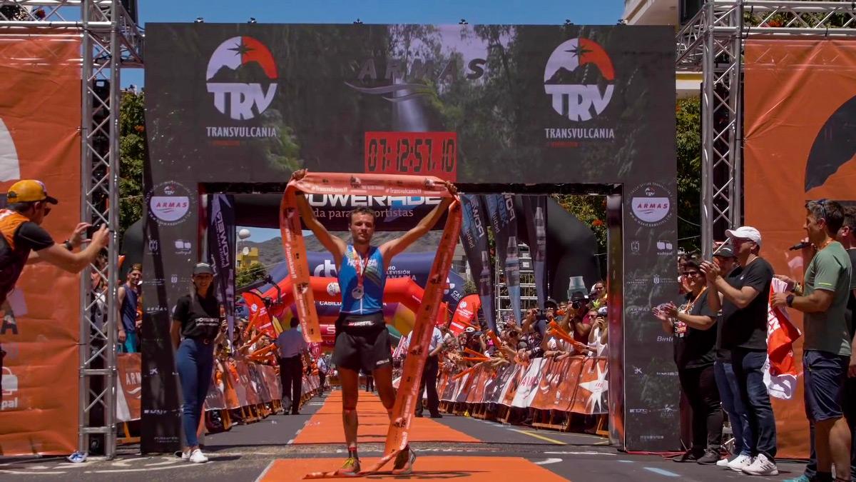 Thibaut Garrivier, vainqueur de la Transvulcania 2019