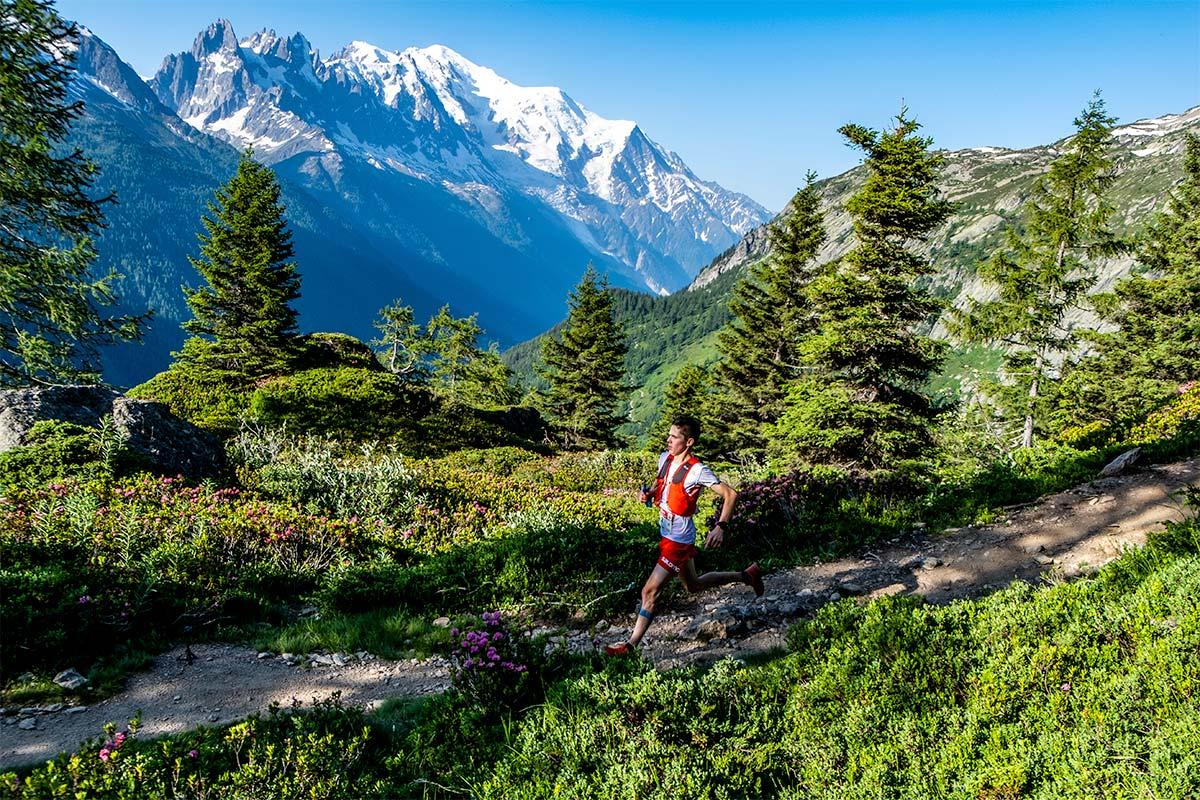 Davide Magnini sur le Marathon du Mont Blanc