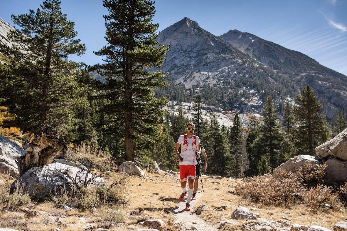 François d'Haene sur le John Muir Trail