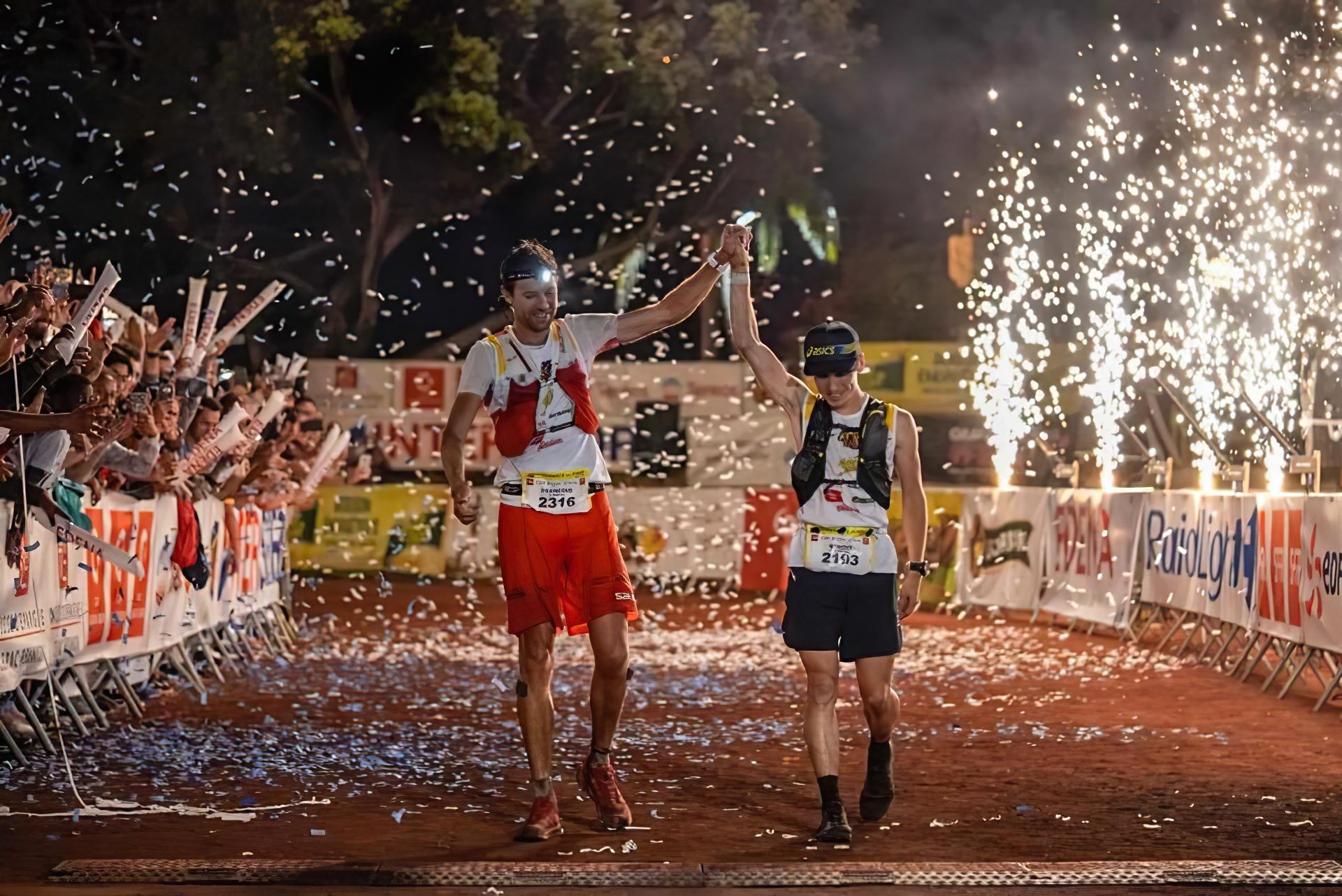 François d'Haene et Benoit Girondel vainqueurs du Grand Raid 2018