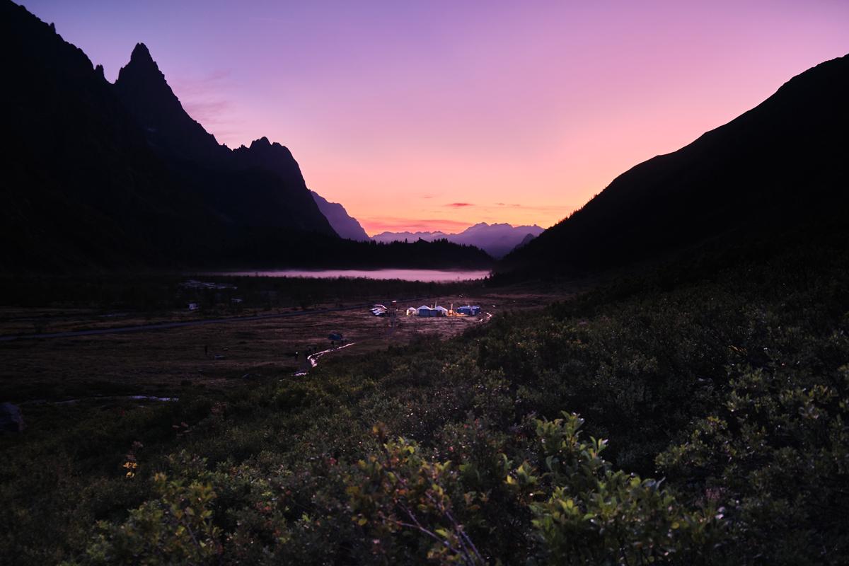 Lac Combal levé du jour UTMB 2019