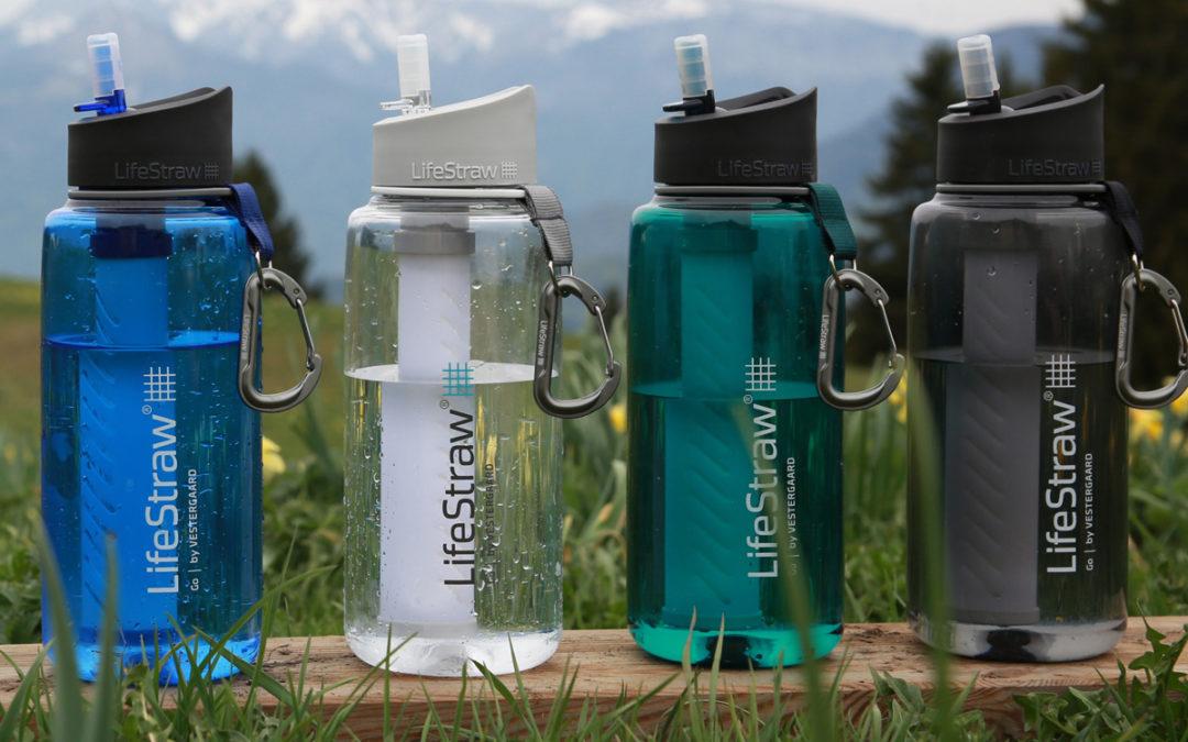 Lifestraw Go 1 liter : capacité augmentée, gourde d'aventurier